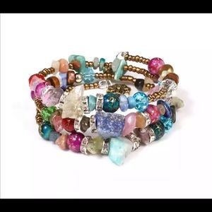 Jewelry - NEW ethnic boho Multilayer beaded bracelet